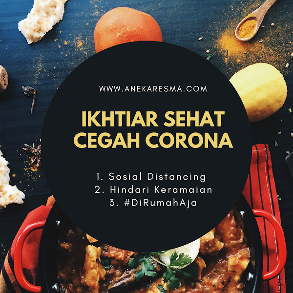 Ikhtiar Sehat Cegah Corona