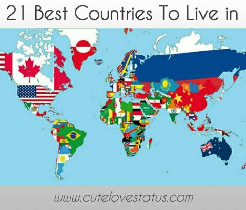 Top 21 Best Countries To Live In The World - Safest Country (2021)