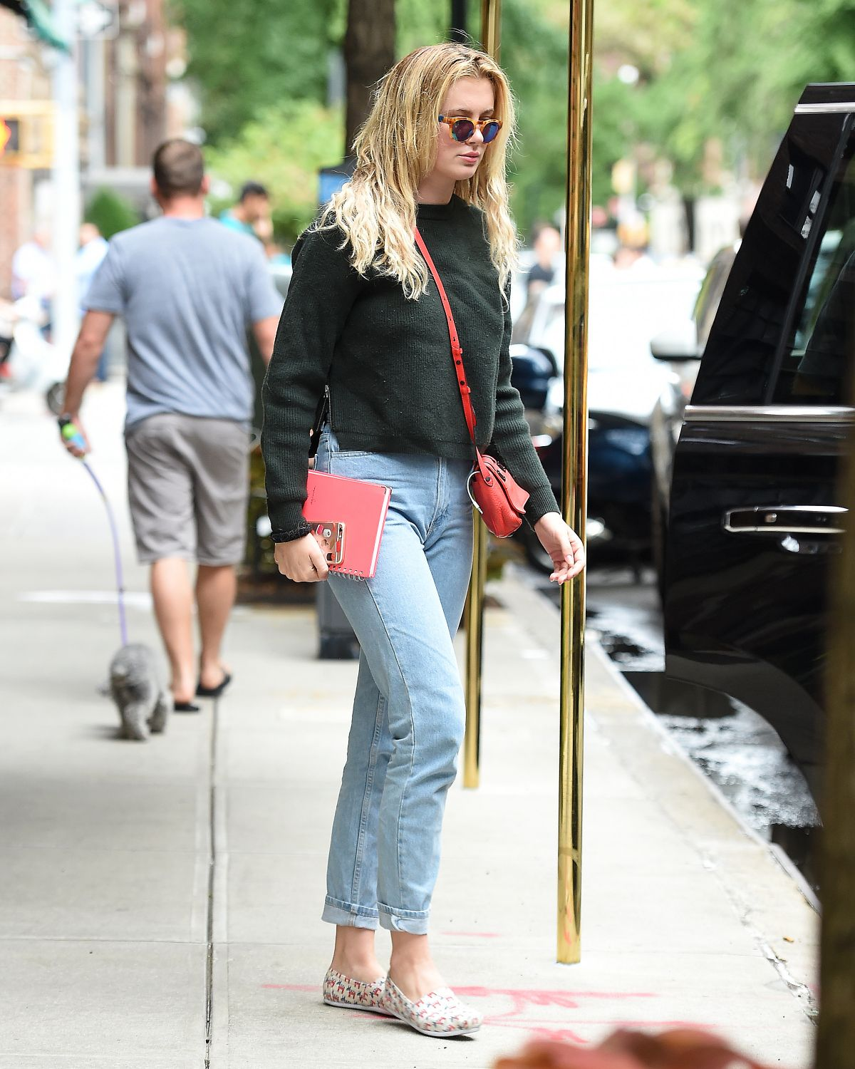 Ireland Baldwin Out And About In New York