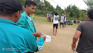 Jelang HUT RI, Karang Taruna Desa Lintong Nihuta Gelar Pertandingan Volleyball