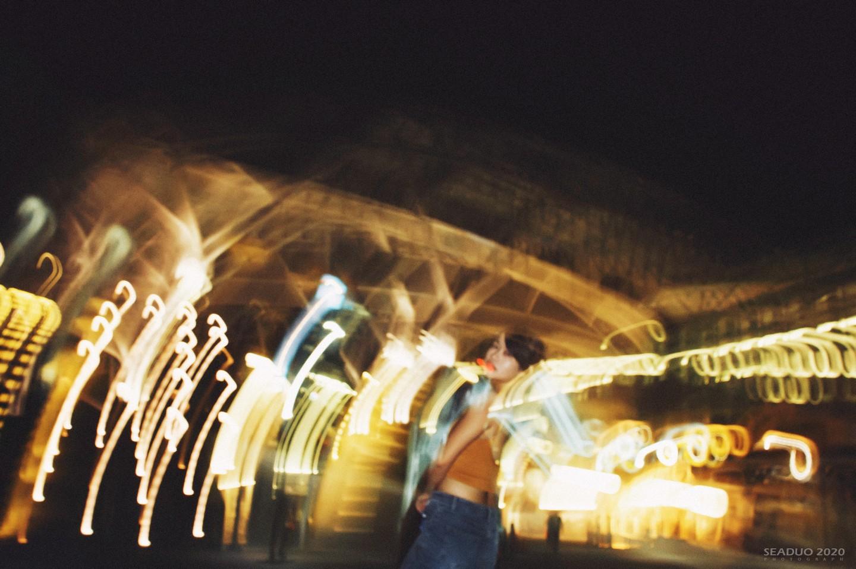 台中車站夜拍