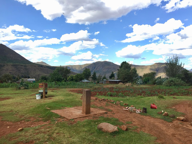 Village tour, Malealea, Lesotho, Africa