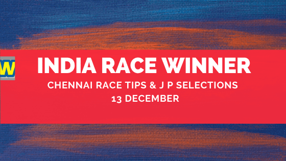 Chennai Race Selections 13 December