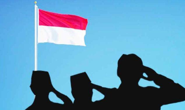 Hukum Menghormati Bendera Merah Putih