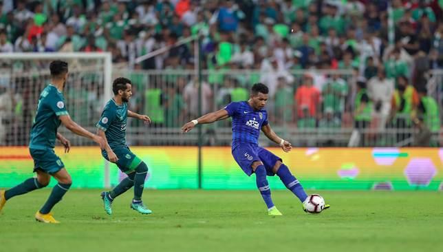 تقرير مباراة الهلال أمام الأهلي السعودي الدوري السعودي