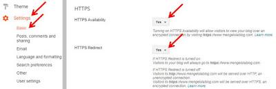 Cara Mengaktifkan HTTPS untuk Blog Custom Domain