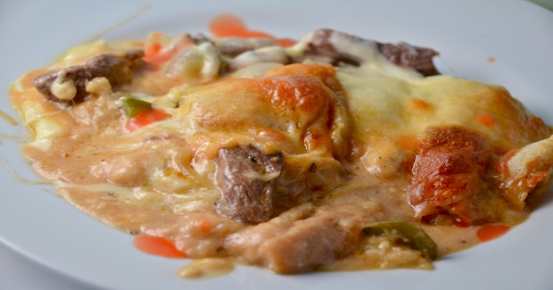 Beer Cheese Philly Steak Casserole Recipe
