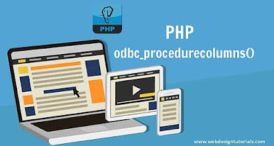 PHP odbc_procedurecolumns() Function