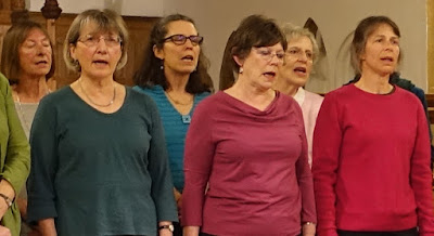 Singing in a choir: meditation for those who can't sit still