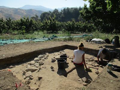 Συνεχίστηκε η ανασκαφή στη θέση Μακούντα-Βούλες