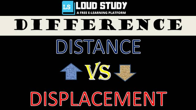 difference-between-distance-and-displacement-in-tabular-form