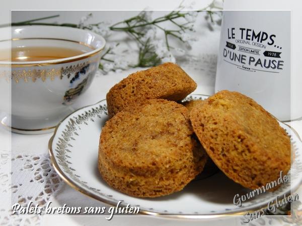 Palets bretons sans gluten