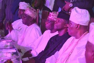 Tinubu, Obasanjo, Others Attends Rasaq Okoya Birthday Celebration (Photos)