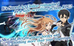 SWORD ART ONLINE Memory Defrag V.1.7.3 MOD APK+DATA