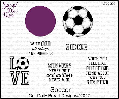 Stamp/Die Duos: Soccer
