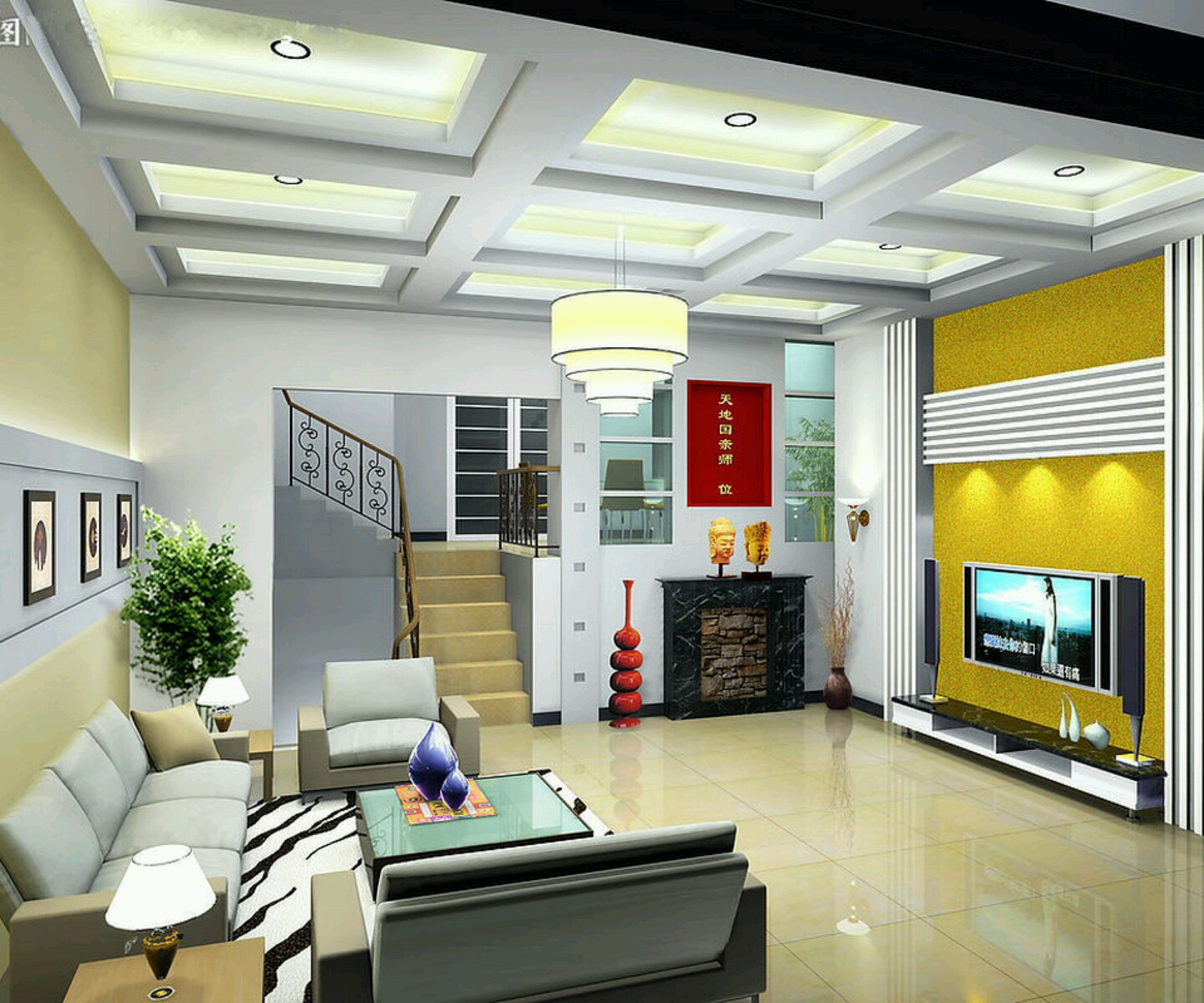 Rumah rumah minimalis: Ultra Modern living rooms interior