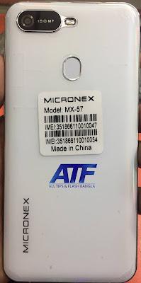 MICRONEX MX-57 FLASH FILE