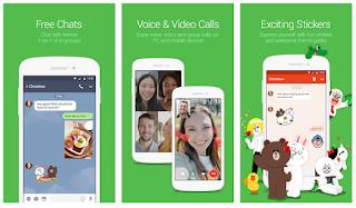 Aplikasi Android Sosial Media  Populer
