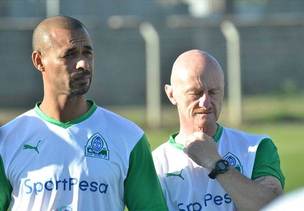 Gor Mahia coach Marcelo Ferreira. PHOTO | Courtesy