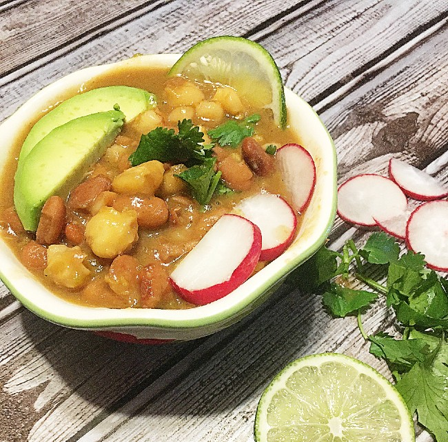 Posole Verde (Hominy Soup)