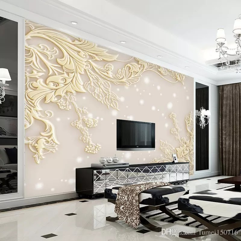 3d for Wallpaper for large rooms