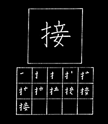 kanji piece together