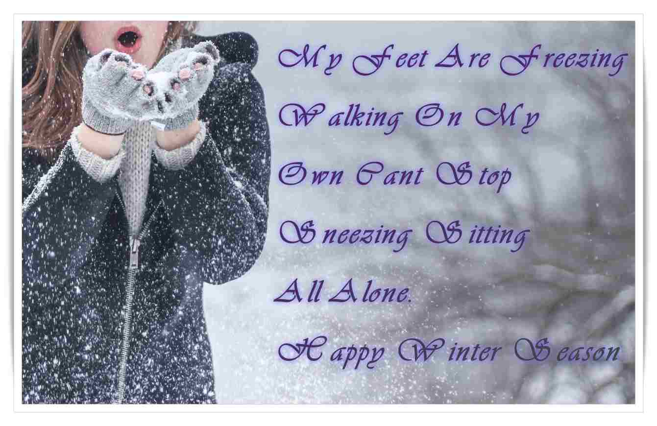 Quotes Winter Happy Winter Sms Messages  Hindi Shayari Quotes