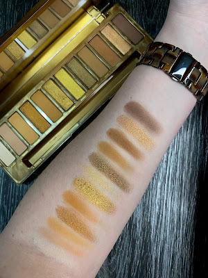 Review and Swatches: Urban Decay Naked Honey Eyeshadow Palette