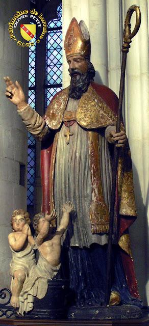 Saint-Nicolas (XVIIIe siècle) - Statue en bois - Basilique de Saint-Nicolas de Port (54)