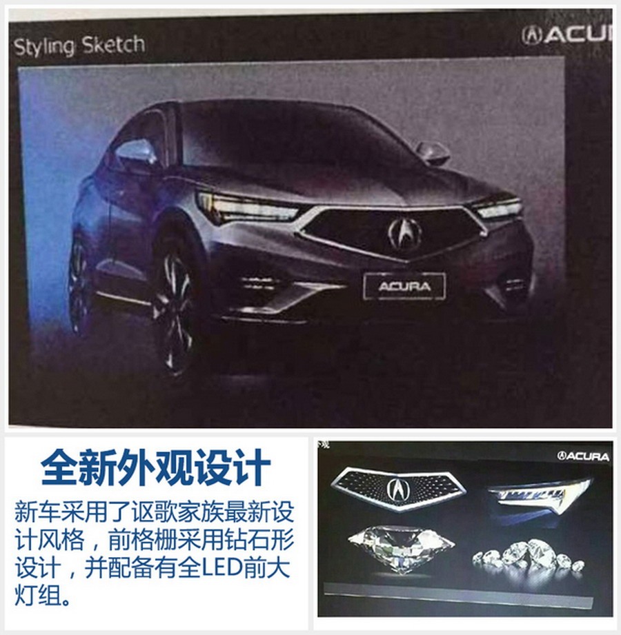New Acura CDX Compact SUV Exposed In China, Rivals