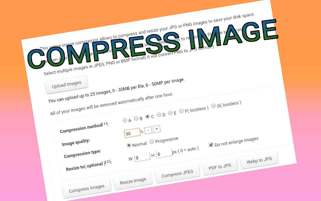 How to images compress