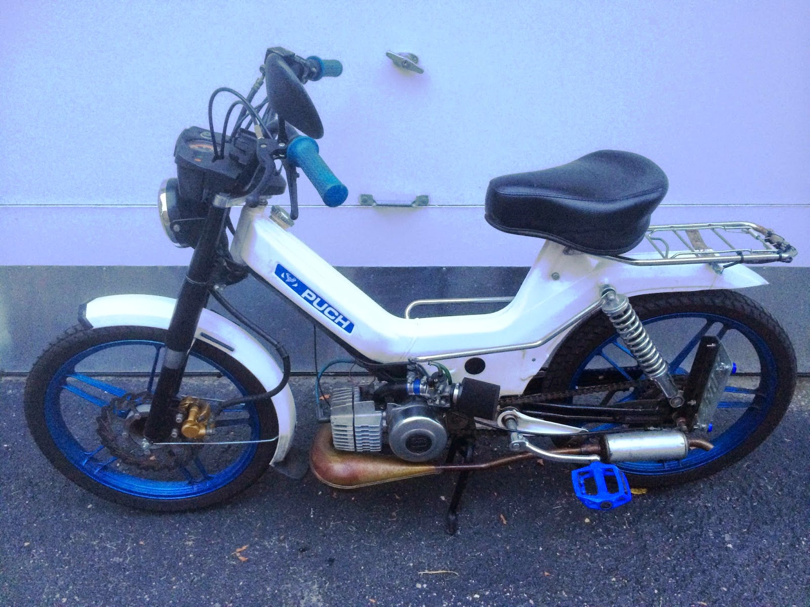 Stuck In The Buckosphere: Emmy, Throwback, moped for sale