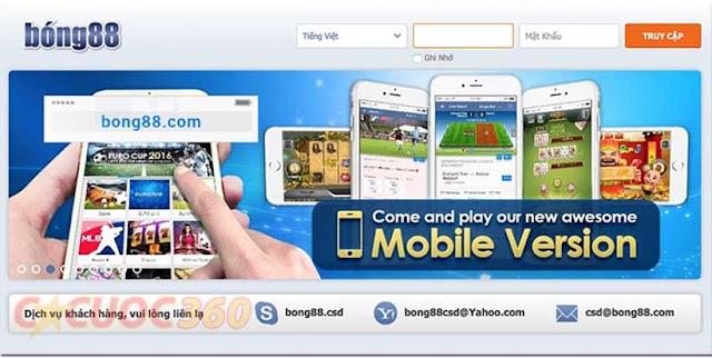 Link vaobong88, cách vào m.bong88.com mới nhất