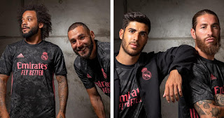 Pictures: Real Madrid drop their third jersey for 2020/21