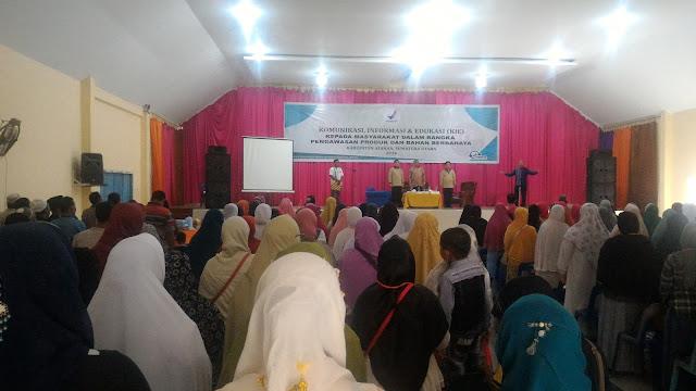 Bersama BPOM Ansory Siregar Sosialisasi KIE Obat dan Makanan di Asahan