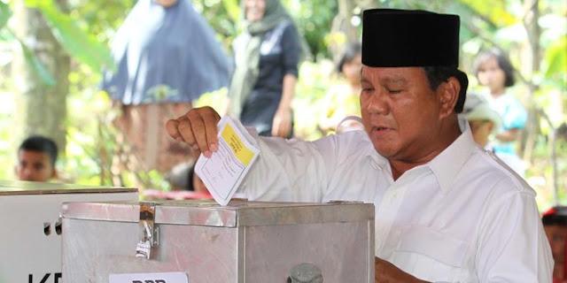 Tidak Muncul di Deklarasi Dirinya Oleh Gerindra DPD DKI, Benarkah Prabowo Mulai Ragu Untuk Hadapi Jokowi di Pilpres 2019?