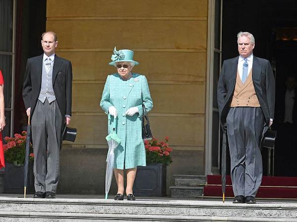 Garden Party w Pałacu Buckingham + więcej.