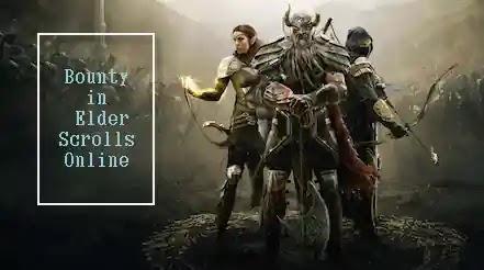 Elder Scrolls Online,ESO,Bounty in Elder Scrolls Online,