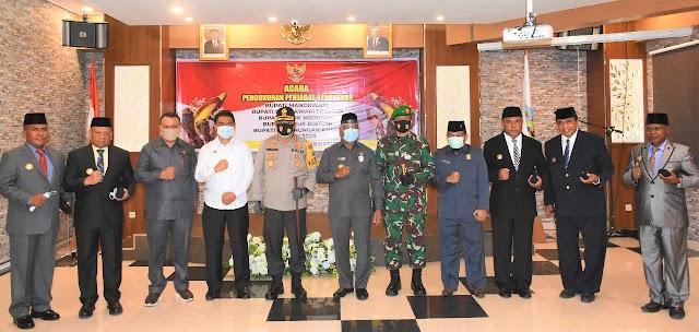 5 Pjs Bupati Dilantik Gubernur Papua Barat, Raja Ampat dan Sorsel Dijabat Wakil Bupati