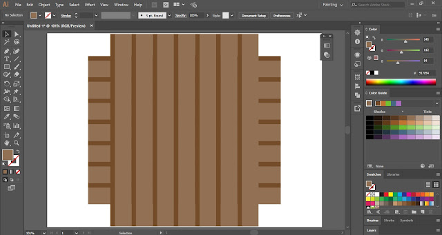 Weave Pattern in Adobe Illustrator