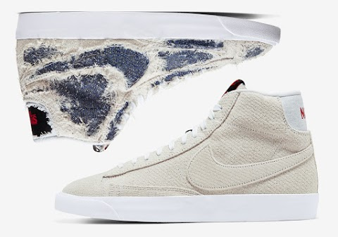 The Stranger Things x Nike Blazer Mid Upside Down
