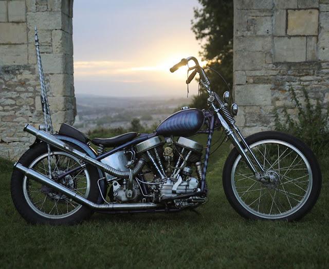 Harley Davidson Panhead By Joel Peet Hell Kustom