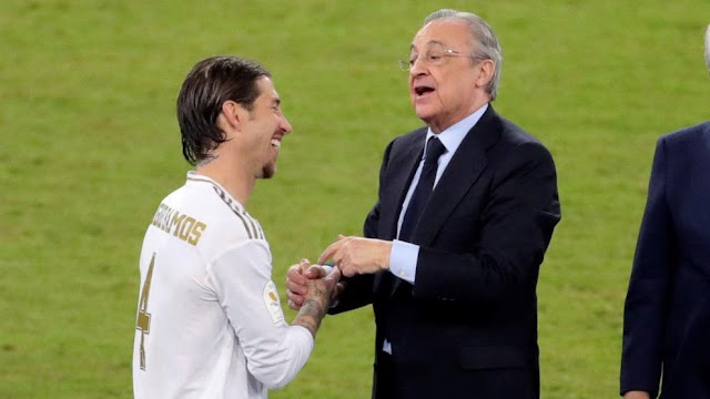 Florentino Perez: Zidane is a blessing from heaven, I hope he wins more trophies