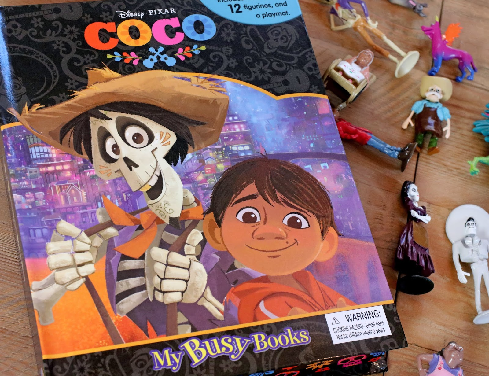 pixar coco my busy books