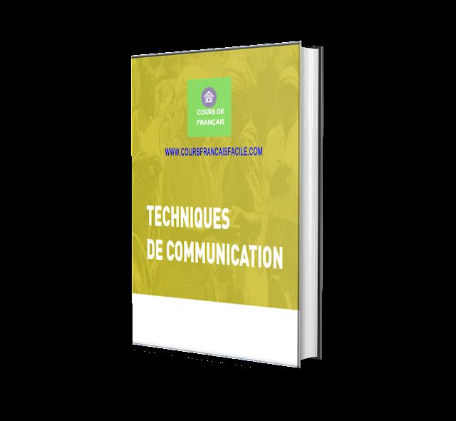 Un livre gratuit en français : Apprendre la technique de communication