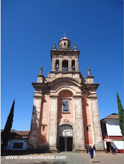 Sanctuary of the Virgin of Guadalupe in Patzcuaro