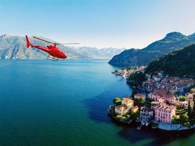Hai mai pensato di acquistare o regalare un volo in elicottero ? Sicuramente e' un esperienza da provare.