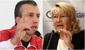 """El Aissami pone fecha de destitución a la fiscal y la vuelve a llamar """"indigna"""""""