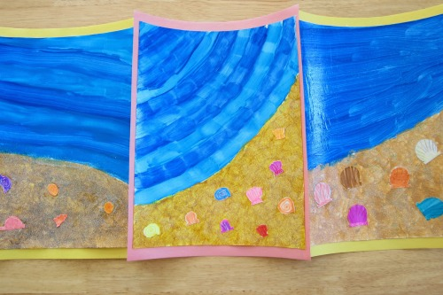 6 Simple Summer Art Projects for Kids #artforkids #artprojects #summerbucketlist