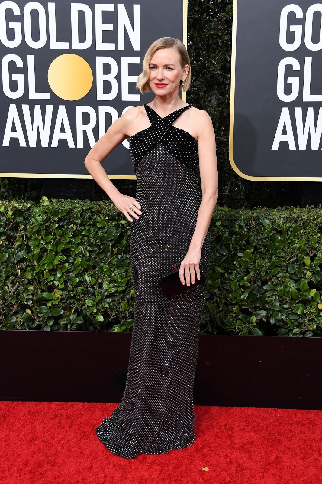 Naomi Watts In Armani Prive – 2020 Golden Globe Awards